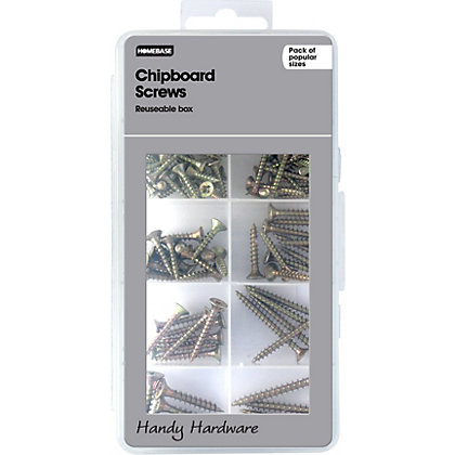 Image for Homebase Handy Hardware - Chipboard Screws from StoreName