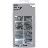 Homebase Handy Hardware - Assorted Wall Plugs