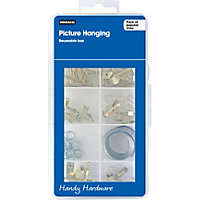 Homebase Handy Hardware - Picture Hanging assortment