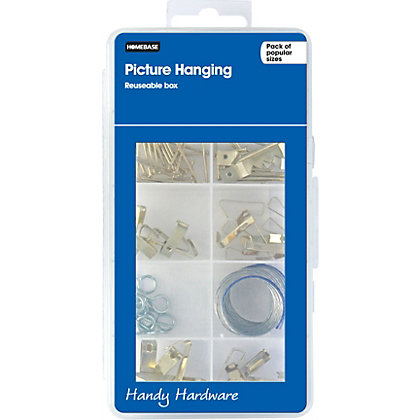 Image for Homebase Handy Hardware - Picture Hanging assortment from StoreName