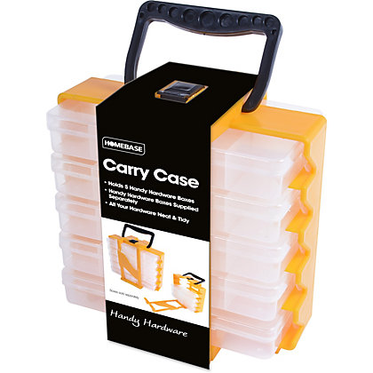 Image for Homebase Handy Hardware - 5 Set Carry Case from StoreName