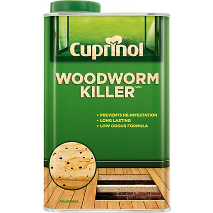 Image for Cuprinol Woodworm Killer 1L from StoreName