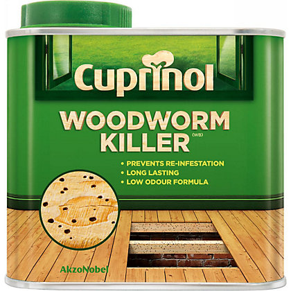 Cuprinol woodworm killer 500ml Cuprinol exterior wood preserver clear