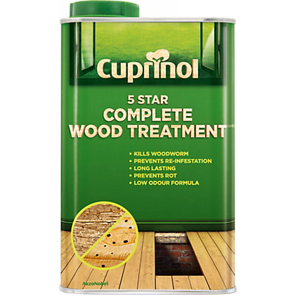 Image for Cuprinol 5 Star Complete Wood Treatment Clear 1L from StoreName