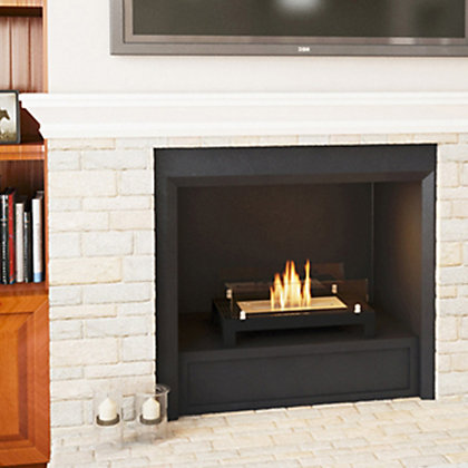 Image for Imagin Black Mylor Bio Ethanol Fireplace from StoreName