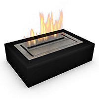 Imagin Black Eton Bio Ethanol Fireplace