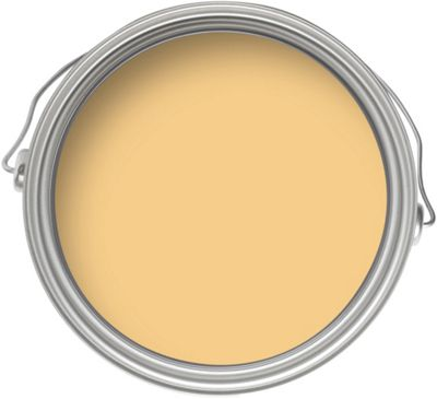 Home of Colour Kitchen and Bathroom Warm Yellow - Matt Emulsion Paint - 2.5L