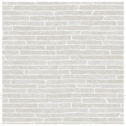 Image for Superfresco Easy Paste the Wall  Briquette Wallpaper - Grey from StoreName