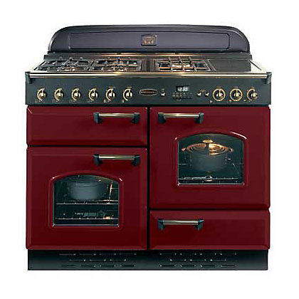 Image for Rangemaster Classic 84780 110cm LPG Gas Cooker - Cranberry & Chrome from StoreName