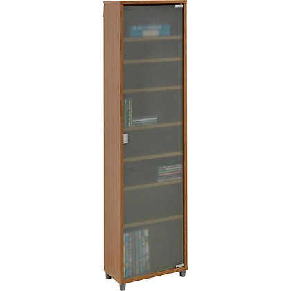 Image for Slimline Storage Unit with Frosted Glass from StoreName