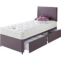 Divans storage beds available online at homebase now for Divan unwind