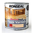 Ronseal Diamond Hard Floor Varnish Gloss Clear- 2.5L