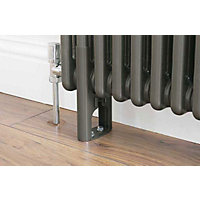 Colonna 4 Column Radiator Feet - Dark Silver