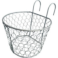 Metal Wire Balcony Basket