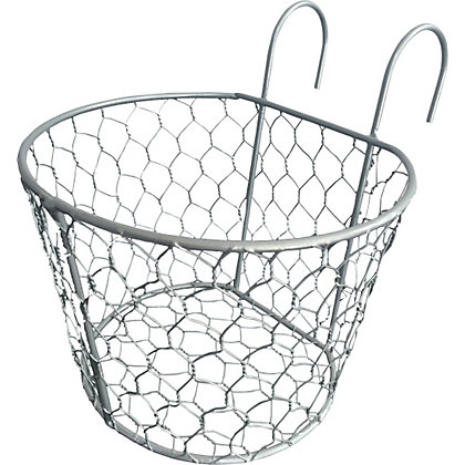 Image for Metal Wire Balcony Basket from StoreName