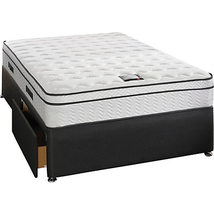 Slumberland Manhattan Double 2 Drw Divan Bed At Homebase Be Inspired And Make Your House A