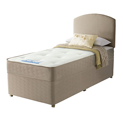 sealy unwind backcare memory double 4 drawer divan bed at