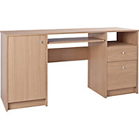 Malibu Pedestal Office Desk and Filing