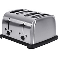 Homebase 4 Slice Toaster - Stainless Steel
