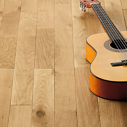 Image for Schreiber Natural Oak 83mm Real Wood Flooring - 1.49 sq m from StoreName