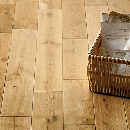 Image for Classic Oak Solid Wood Flooring - Collect In Store from StoreName