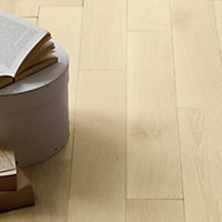 Schreiber Antarctic White Real Wood Flooring - 1.15 sq m
