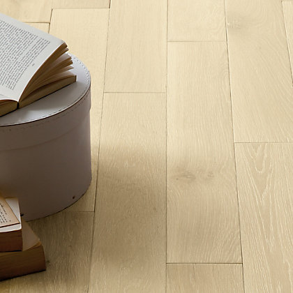 Image for Schreiber Antarctic White Real Wood Flooring - 1.15 sq m from StoreName