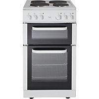 Bush BET50W White Single Electric Cooker - Express Delivery.