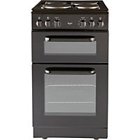 Bush BED50B Double Electric Cooker - Black.
