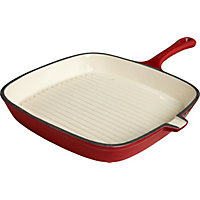 Heart of House Cast Iron 24cm Grill Pan.