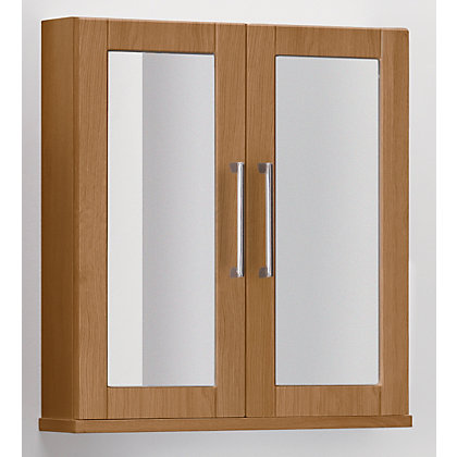 Image for Winslow Double Door Cabinet - Oak from StoreName