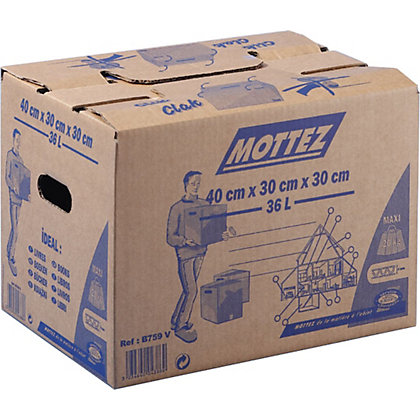 Image for Cardboard Box - 36L from StoreName