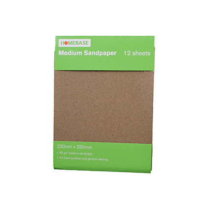 Image for Sandpaper Medium- 12 pack from StoreName