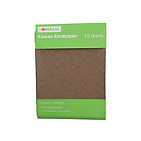 Sandpaper Coarse - 12 pack
