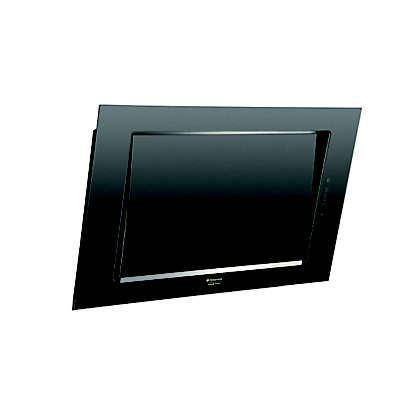 Image for Hotpoint Luce HXQVC8ATK Hood - Black from StoreName