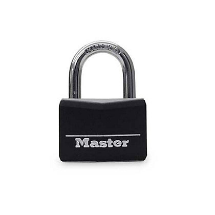 Image for Master Lock Vinyl Covered Padlock - 20mm - 4 Pack from StoreName