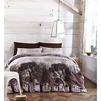 Woodland Duvet Cover Set - Multicoloured - Double