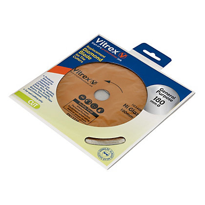 Image for Vitrex General Purpose Diamond Blade - 180mm from StoreName