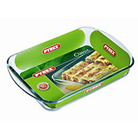 Pyrex Rectangular Glass Roaster - 35x23cm