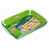 Pyrex Rectangular Glass Roaster - 40x27cm