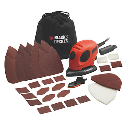 Image for Black & Decker Mouse Detail Sander and Accessories from StoreName