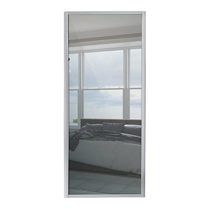 Image for Ellipse Single Panel Mirror Sliding Door - 610mm from StoreName