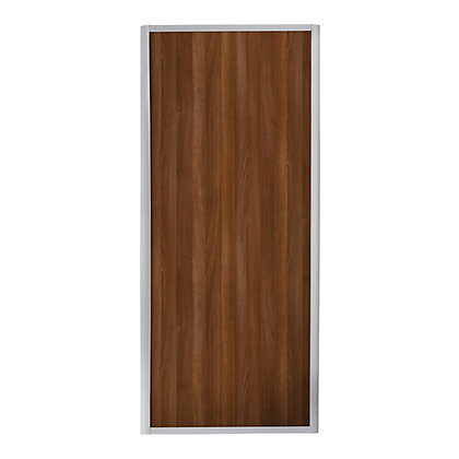 Image for Ellipse Single Panel Walnut Panel Sliding Door - 762mm from StoreName