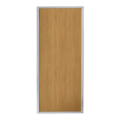 Image for Ellipse Single Panel Windsor Oak Panel Sliding Door - 914mm from StoreName