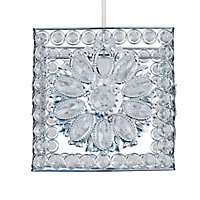 Jewel Flower Lamp Shade - Homebase