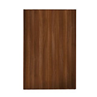Loft Walnut Frame Walnut Panel Sliding Door - 610mm