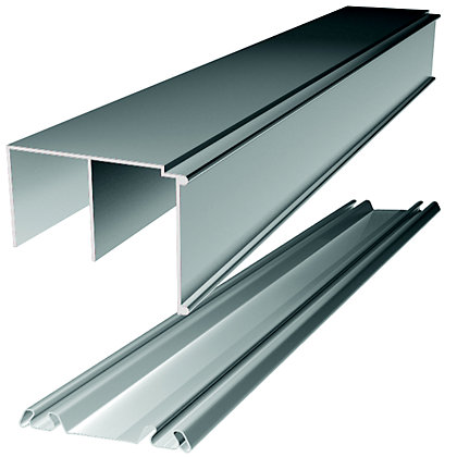 Image for Ellipse Sliding Door Track Set - 550 - 1830mm from StoreName