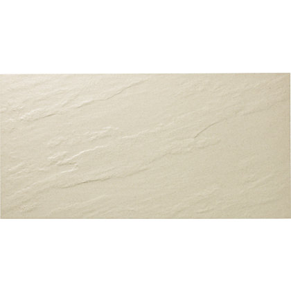 Image for Storm Porcelain Ivory Wall & Floor Tiles - 300 x 600mm - 5 pack from StoreName