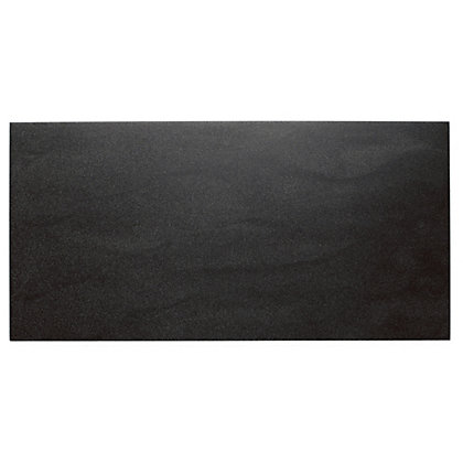 Image for Luna Black Wall & Floor Tiles - 300 x 600mm - 5 pack from StoreName