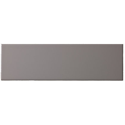 Islington Wall Tile Matt Ash 100 X 330mm Pack Of 15